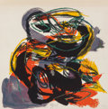 Prints:Contemporary, Karel Appel (Dutch, 1921-2006). Paysages Humains, 1961.Complete set of eight lithographs in colors on Arches paper, wit...(Total: 8 Items)