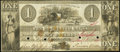 Obsoletes By State:New Hampshire, Rochester, NH- Rochester Bank $1 Jan. 8, 1844. ...