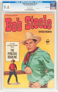 Bob Steele Western #3 Crowley Copy Pedigree (Fawcett Publications, 1951) CGC NM+ 9.6 Off-white pages
