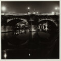 Photographs:Gelatin Silver, Robert D'Amore (American, 1940-2006). Untitled (Pont Neuf), 1972. Gelatin silver. 10-1/4 x 10-3/8 inches (26.2 x 26.4 cm...