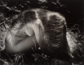 Photographs:Gelatin Silver, Ruth Bernhard (American, 1905-2006). In the Grass. Gelatinsilver. 10-1/2 x 13-1/2 inches (26.7 x 34.3 cm). Signed in pe...