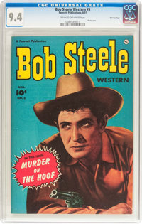Bob Steele Western #5 Crowley Copy Pedigree (Fawcett Publications, 1951) CGC NM 9.4 Cream to off-white pages