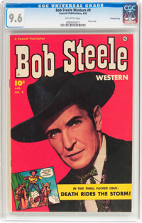 Bob Steele Western #9 Crowley Copy Pedigree (Fawcett Publications, 1952) CGC NM+ 9.6 Off-white pages