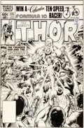 Original Comic Art:Covers, Keith Pollard Thor #315 Cover Original Art (Marvel,1982)....