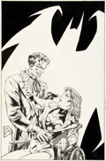 Original Comic Art:Covers, Steve Lightle Suicide Squad #48 Cover Joker and BatgirlOriginal Art (DC, 1990)....