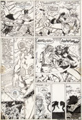 Original Comic Art:Panel Pages, Barry Smith and Sal Buscema Conan the Barbarian #3 Story Page 18 Original Art (Marvel, 1971)....