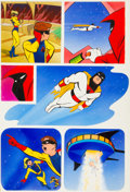 Original Comic Art:Panel Pages, Steve Rude and Willie Blyberg Space Ghost Story Page 9Original Art (Comico, 1987)....