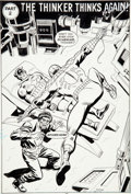 Original Comic Art:Splash Pages, Win Mortimer, Mike Esposito, and Ricardo Villamonte Spidey SuperStories #51 Story Splash Page 7 Original Art (Mar...