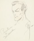 Original Comic Art:Sketches, Bill Everett Prince Namor the Sub-Mariner Sketch OriginalArt (undated)....