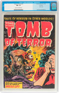Golden Age (1938-1955):Horror, Tomb of Terror #15 File Copy (Harvey, 1954) CGC NM- 9.2 Cream tooff-white pages....