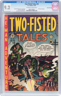 Golden Age (1938-1955):War, Two-Fisted Tales #25 Gaines File Pedigree (EC, 1952) CGC NM- 9.2Off-white to white pages....
