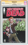 Modern Age (1980-Present):Horror, Walking Dead #1 Wizard World Tulsa Edition - Signature Series(Image, 2015) CGC NM/MT 9.8 White pages....