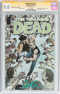 Modern Age (1980-Present):Horror, Walking Dead #1 Wizard World San Jose Edition - Signature Series(Image, 2015) CGC NM/MT 9.8 White pages....