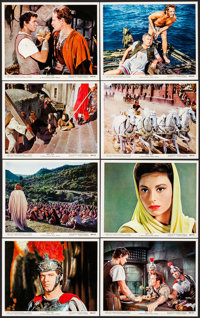 "Ben-Hur (MGM, R-1969). British Front of House Color Photos (16) (8"" X 10""). Academy Award Winners. ... (Total:..."