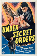 """Movie Posters:War, Under Secret Orders (Guaranteed Pictures, 1943). One Sheets (2)Identical (27"""" X 41""""). War.. ... (Total: 2 Items)"""