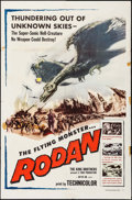 """Movie Posters:Science Fiction, Rodan! The Flying Monster (Toho/ DCA, 1957). One Sheet (27"""" X 41""""). Science Fiction.. ..."""