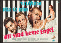 """Movie Posters:Comedy, We're No Angels (Paramount, 1955). German A0 (33"""" X 47""""). Comedy.. ..."""