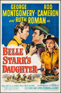 """Movie Posters:Western, Belle Starr's Daughter (20th Century Fox, 1948). One Sheet (27"""" X 41""""). Western.. ..."""