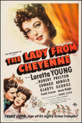 "Movie Posters:Western, The Lady from Cheyenne (Universal, 1941). One Sheet (27"" X 41""). Western.. ..."