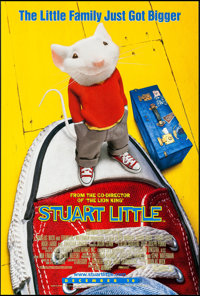 "Stuart Little (Columbia, 1999). One Sheets (50) Identical (26.75"" X 39.75"") DS Advance. Children's. ... (Total..."