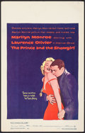 "Movie Posters:Romance, The Prince and the Showgirl (Warner Brothers, 1957). Window Card(14"" X 22""). Romance.. ..."