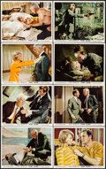 """Movie Posters:Crime, Point Blank (MGM, 1967). British Front of House Color Photo Set of8 (8"""" X 10"""") & Uncut British Pressbook (12 Pages ,9.5"""" X ...(Total: 9 Items)"""