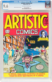 Artistic Comics #nn (Golden Gate, 1973) CGC NM+ 9.6 Off-white to white pages
