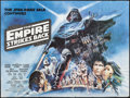 "Movie Posters:Science Fiction, The Empire Strikes Back (20th Century Fox, 1980). British Quad (30""X 40""). Science Fiction.. ..."