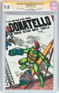 Modern Age (1980-Present):Humor, Donatello, Teenage Mutant Ninja Turtle #1 Signature Series (MirageStudios, 1986) CGC NM/MT 9.8 Off-white to white pages....