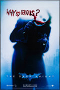 "Movie Posters:Action, The Dark Knight (Warner Brothers, 2008). Vinyl Banner (35.5"" X 54"")SS Joker Style. Action.. ..."