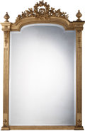 Decorative Arts, French:Other , A Louis XVI-Style Giltwood Mirror Frame, late 19th century. 64-3/4inches high x 43-1/2 inches wide (164.5 x 110.5 cm). ...
