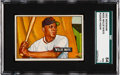 Baseball Cards:Singles (1950-1959), 1951 Bowman Willie Mays #305 SGC 84 NM 7....