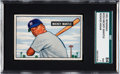 Baseball Cards:Singles (1950-1959), 1951 Bowman Mickey Mantle Rookie #253 SGC 84 NM 7....