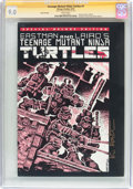 Modern Age (1980-Present):Alternative/Underground, Teenage Mutant Ninja Turtles #1 Sixth Printing - Signature Series(Mirage Studios, 1992) CGC VF/NM 9.0 White pages....