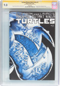 Modern Age (1980-Present):Humor, Teenage Mutant Ninja Turtles #2 Signature Series (Mirage Studios,1984) CGC NM/MT 9.8 White pages....