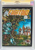 Modern Age (1980-Present):Science Fiction, Fugitoid #1 Signature Series (Mirage Studios, 1985) CGC NM/MT 9.8White pages....