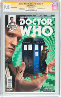 Modern Age (1980-Present):Science Fiction, Doctor Who: The Eleventh Doctor #6 Subscription Edition - SignatureSeries (Titan Comics, 2015) CGC NM/MT 9.8 White pages....