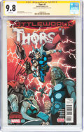 Modern Age (1980-Present):Science Fiction, Thors #1 Signature Series (Marvel, 2015) CGC NM/MT 9.8 Whitepages....