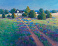 Fine Art - Painting, American:Contemporary   (1950 to present)  , Carrie Ballard (American, 20th Century). The Road Home. Oilon canvas. 24 x 30 inches (61.0 x 76.2 cm). Signed lower rig...