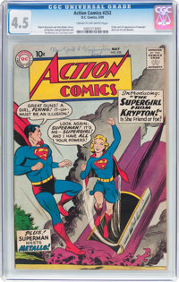 Action Comics #252 (DC, 1959) CGC VG+ 4.5 Cream to off-white pages