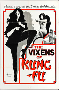 "The Vixens of Kung Fu & Others Lot (VCA, 1975). One Sheets (3) (25"" X 38"" & 27"" X 41""). Adul..."