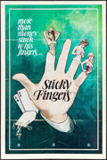 """Movie Posters:Adult, Sticky Fingers & Others Lot (1970s). One Sheets (3) (27"""" X 41""""). Adult.. ... (Total: 3 Items)"""