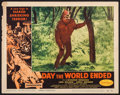 "Movie Posters:Science Fiction, Day the World Ended (American Releasing Corp., 1956). Lobby Card(11"" X 14""). Science Fiction.. ..."