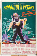 "Movie Posters:Science Fiction, Forbidden Planet (MGM, 1956). One Sheet (27"" X 41""). ScienceFiction.. ..."