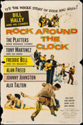 "Movie Posters:Rock and Roll, Rock Around the Clock (Columbia, 1956). One Sheet (27"" X 41""). Rockand Roll.. ..."
