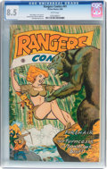 Golden Age (1938-1955):Horror, Rangers Comics #41 (Fiction House, 1948) CGC VF+ 8.5 Whitepages....