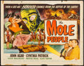 """Movie Posters:Science Fiction, The Mole People (Universal International, 1956). Half Sheet (22"""" X28"""") Style A. Science Fiction.. ..."""