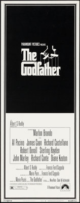 """The Godfather (Paramount, 1972). Insert (14"""" X 36""""). Crime"""