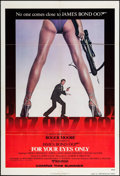 """Movie Posters:James Bond, For Your Eyes Only (United Artists, 1981). One Sheet (27"""" X 41"""") Advance. James Bond.. ..."""