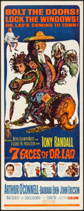"""Movie Posters:Fantasy, The 7 Faces of Dr. Lao (MGM, 1964). Insert (14"""" X 36""""). Fantasy....."""